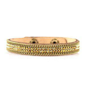 Babe Bling - Brass Wrap Urban Bracelet Jewelry